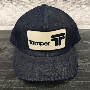 1980s Tamper Patch Made In USA Snapback